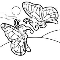 monarch coloring page 3 monarch coloring page 4